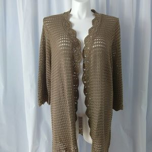 Liz Claiborne Long Cardigan